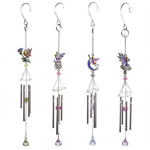Small fairy Wind Chime 4 Assorted