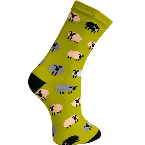 Sheep Socks Size - Available in 2 Sizes