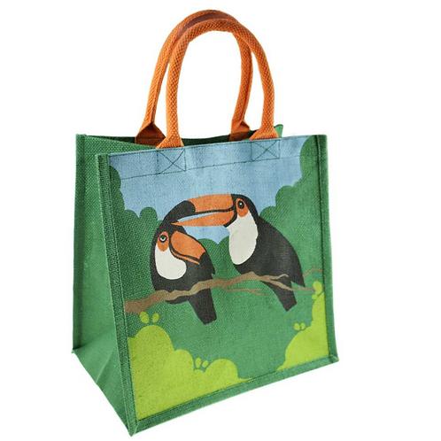 Toucan Jute Bag