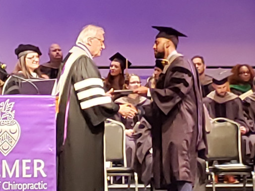 Brown Earns Doctorate from Palmer College of Chiropratic