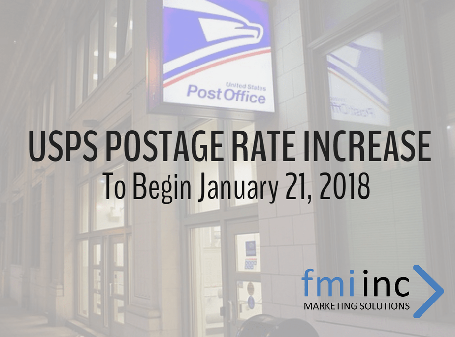 USPS Announces New Prices for 2018