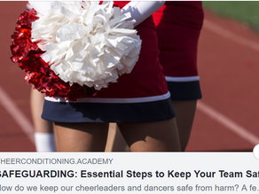 Guest blog for CheerConditioning.Academy on keeping athletes safe