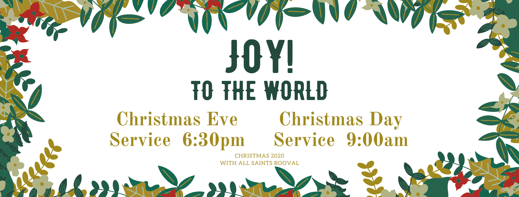 JOY! TO THE WORLD (7)
