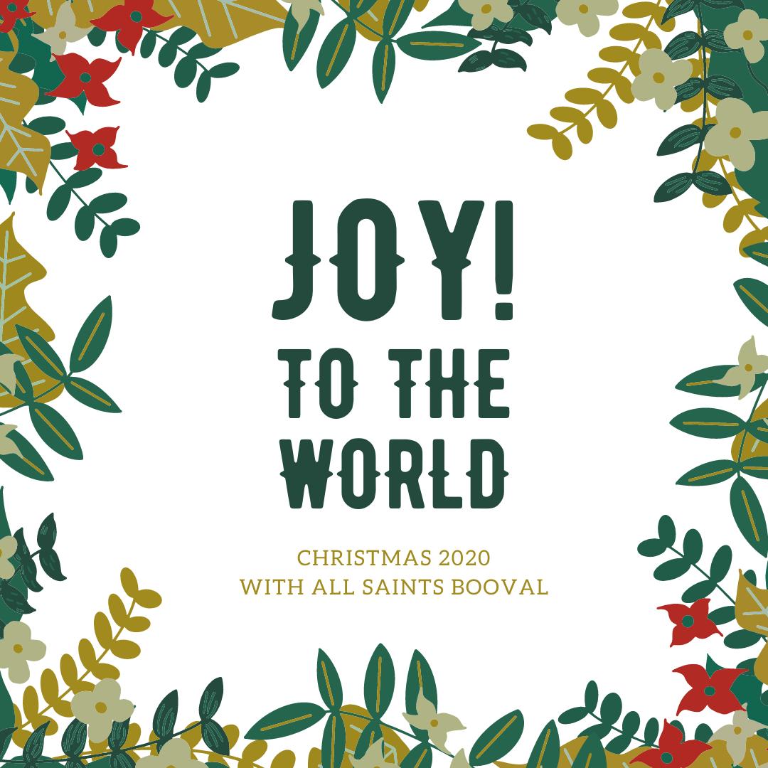 Copy of Joy to the world David
