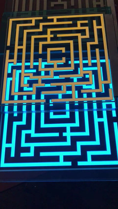LES Test Print (Maze Design)