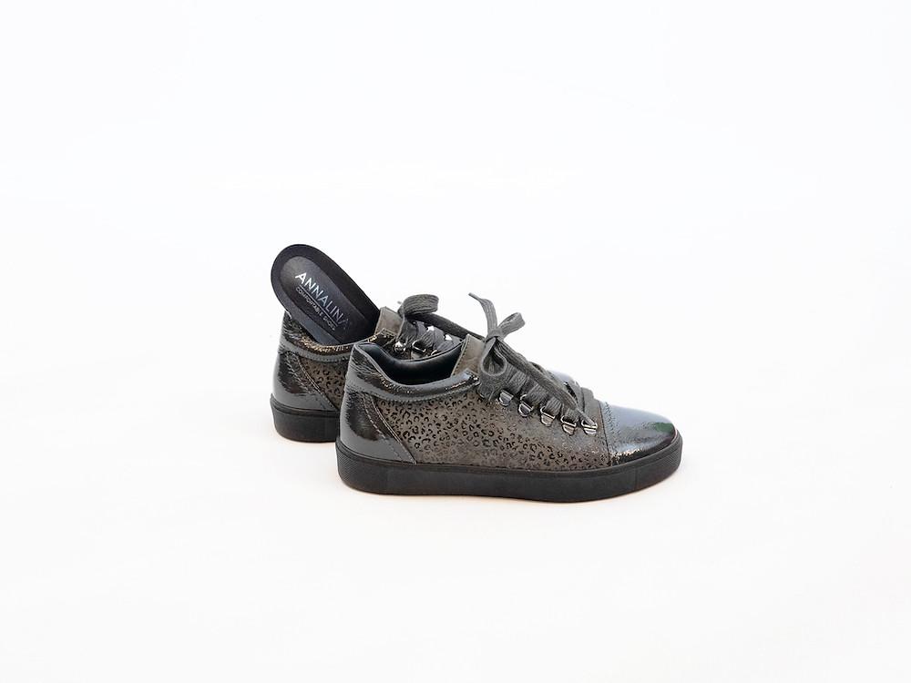 Annalina schoenen, sneakers met uitneembaar voetbed