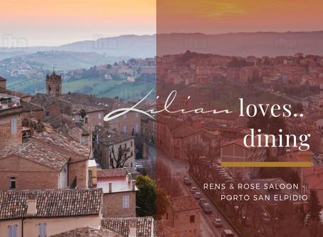 Lilian loves... dining | Porto San Elpidio