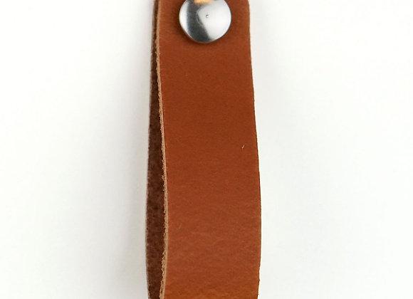 Leren handgreep cognac [smal] 15 of 18 cm