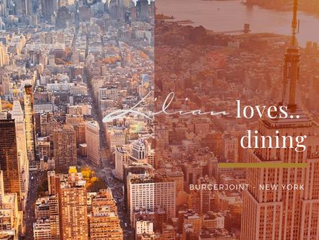 Lilian loves... dining | NEW YORK