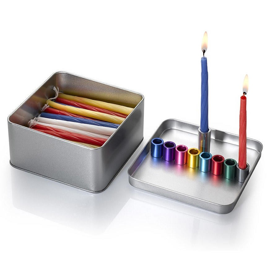 Laura Cowan Magnetic Box Travel Hanukkah