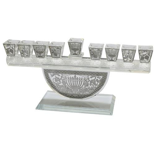 Decorated Crystal Hanukkah Menorah.jpg