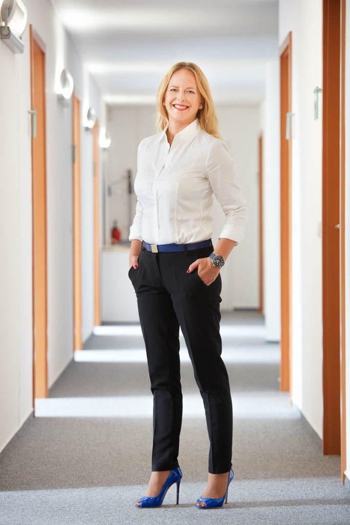 Businessportraits von Sandra Lenzenhuber, Geschäftsführerin des BVI Bundesfachverbandes der Immobilienverwalter.