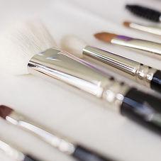 Make-Up Pinsel im Fotostudio Farbtonwerk