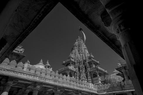 Indien-Architektur-Fotostudio-Farbtonwer