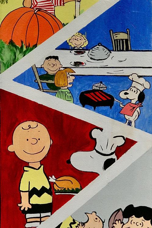 Charlie Brown Thanksgiving Print