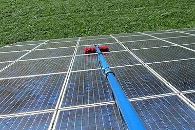 Photovoltaik-Reinigung, Prutting