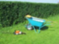 Gartenarbeiten, Prutting