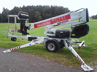 Anhangerbühnen Dino 160 XT/B II, Voggenauer Arbeitsbühnen, Prutting