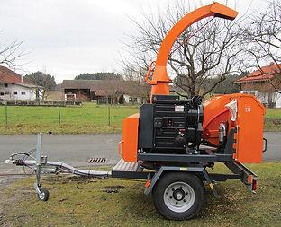 Gartengeraete Holzhackmaschine, Voggenauer Arbeitsbühnen, Prutting