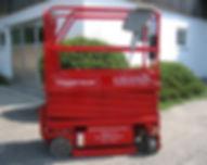 Scherenbühnen RX780, Voggenauer Arbeitsbühnen, Prutting