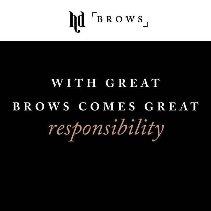 HD Brows....