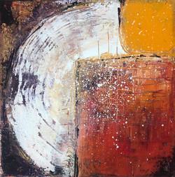 Harmony I, acrylic on 20x20cm canvas by