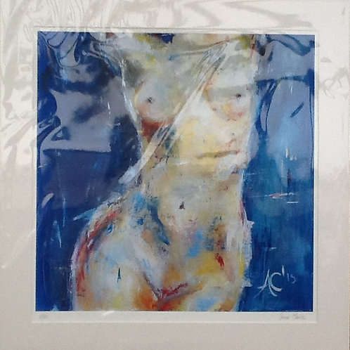 Theros - Goddess of Summer, size of image 40x40cm (50x50cm with the mount)