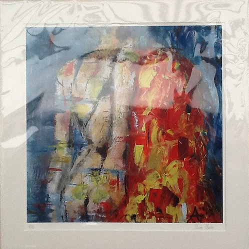 Hegemone - Goddess of Summer, size of image 40x40cm (50x50cm with the mount)