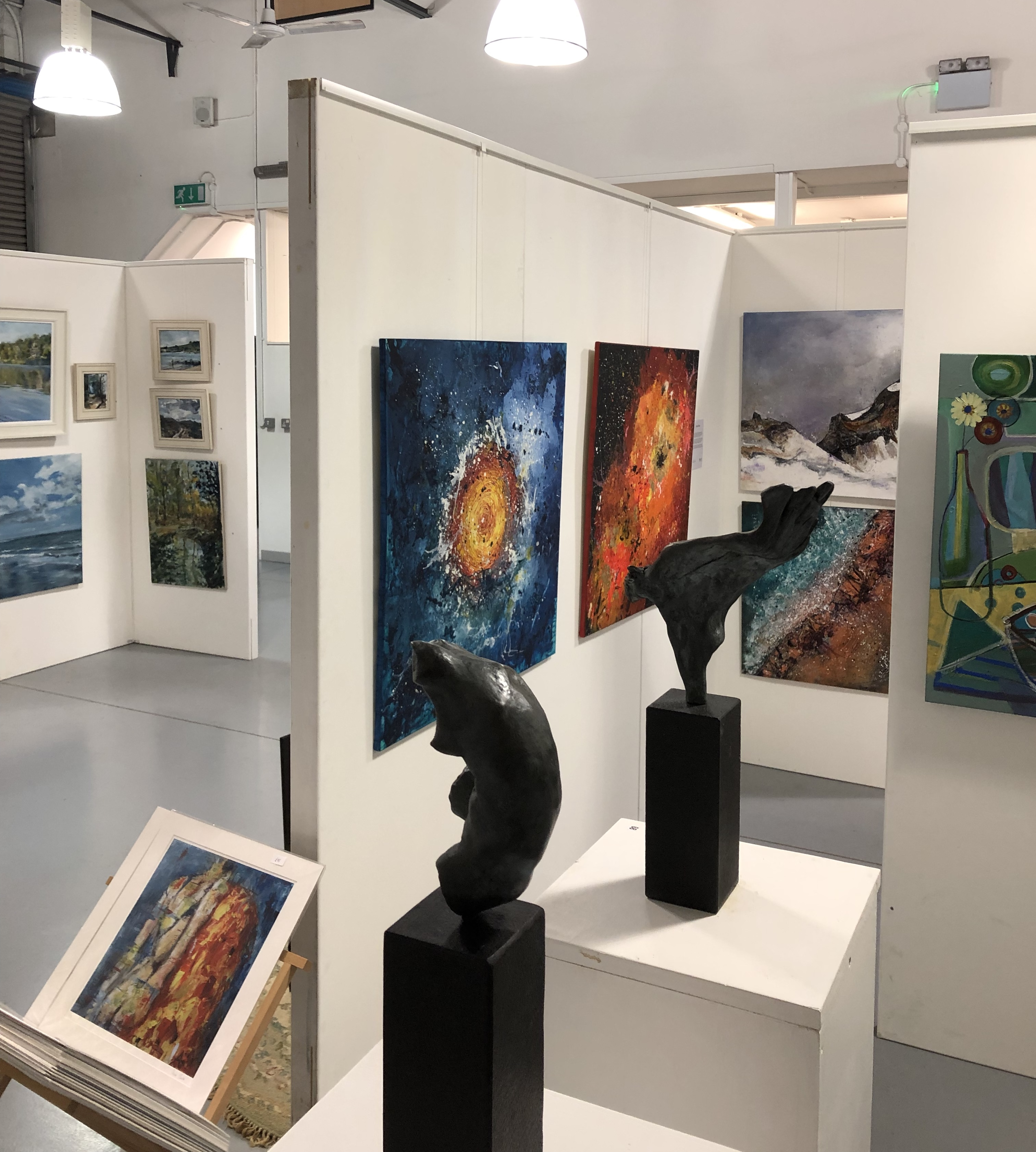 OKO Art Gallery in Guildford Nov 2018