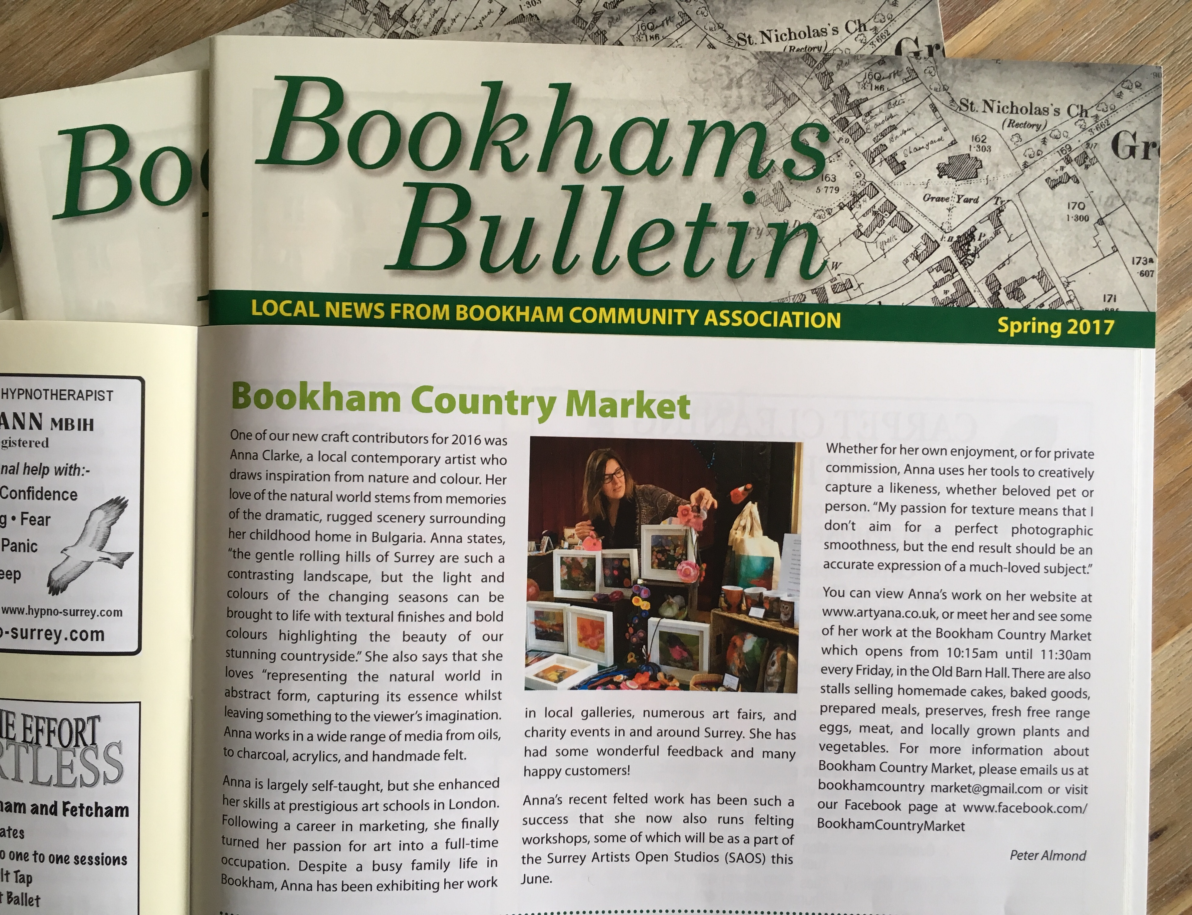 Bookham Bulletin Article