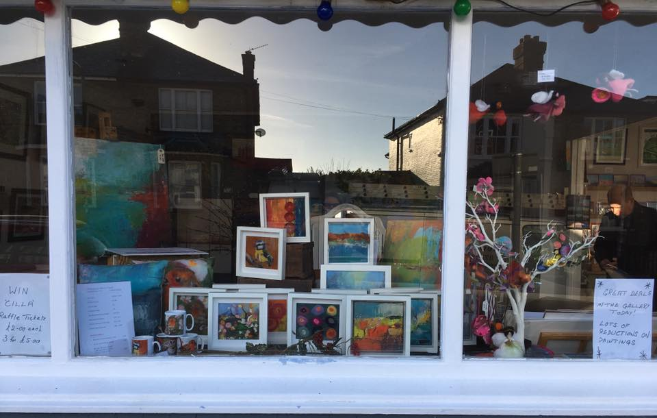 Village gallery shop window 1
