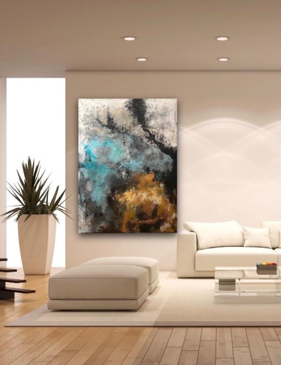 Moody I, 120x160cm, acrylic on canvas, i
