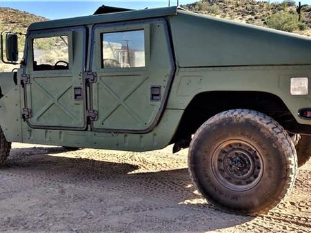 1985 M1025 SLANTBACK 6.5L GEP