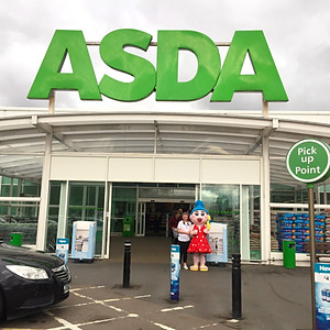 Asda Collecting and Awareness Raising