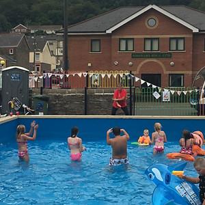 Pool Fun Continues .....
