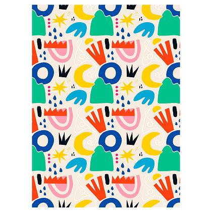 Abstract print no.5