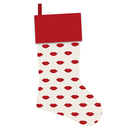 Lips Christmas Stocking