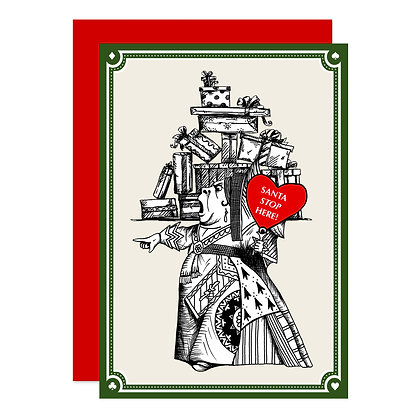 The Queen of Hearts - Christmas