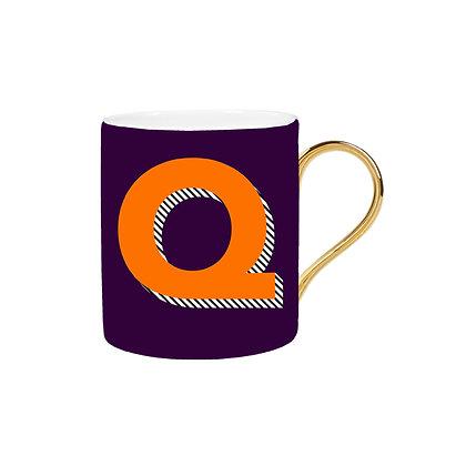 Letter Q Mug