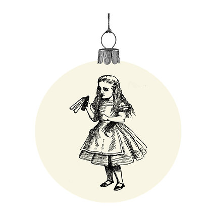 Alice in Wonderland bauble - Alice