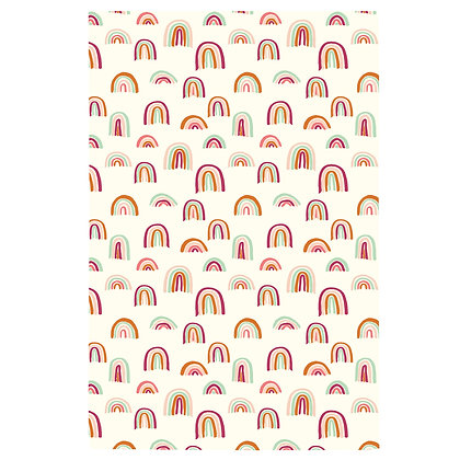 Rainbow Print no.2 Tea Towel