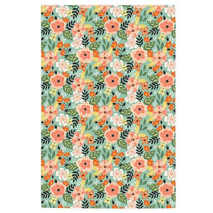 Floral no.3 Tea Towel