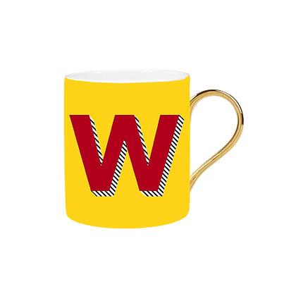 Letter W Mug