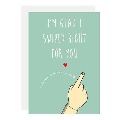 Swiped right