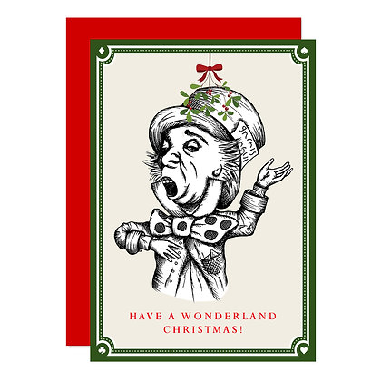 The Mad Hatter - Christmas