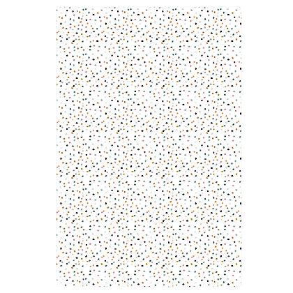 Coloured Speckles Tea Towel
