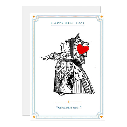 The Queen of Hearts - Birthday
