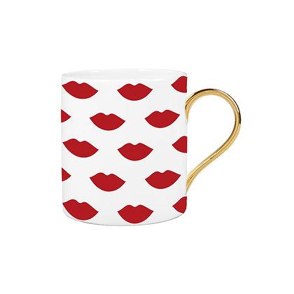 Lip Pattern Mug