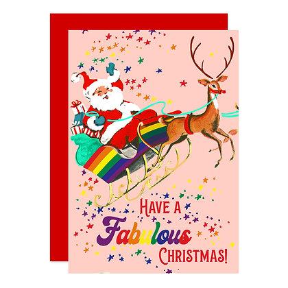 Santa's Rainbow Sleigh