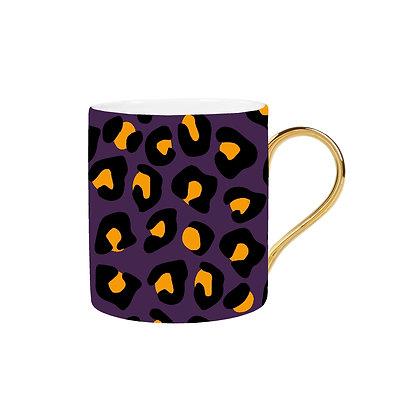 Purple Leopard Mug